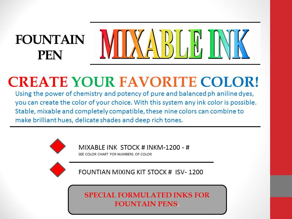 1MIXABLE INK COVER SHEET