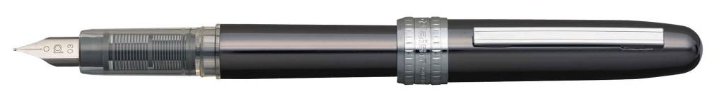 PGB-1000B-#98 PLAISIR GUNMETAL STAINLESS STEEL NIB AVAILABLE IN FINE AND MEDIUM.