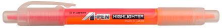 PLATINUM TWO SIDED HIGHLIGHTER CSAW-150pinkorange