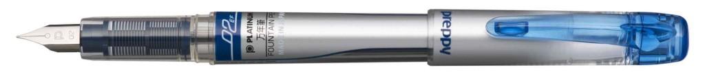 PPQ-300-#3 PREPPY BLUE EXTRA-FINE STAINLESS STEEL NIB.