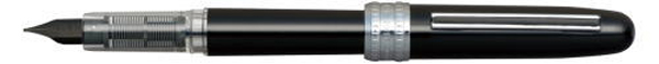 PGB-1000-#1 PLAISIR BLACK STAINLESS STEEL NIB AVAILABLE IN FINE AND MEDIUM.