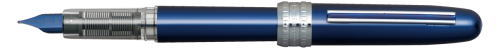 PGB-1000-#56 PLAISIR DRK BLUE STAINLESS STEEL NIB AVAILABLE IN FINE OR MEDIUM.