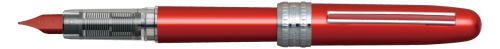 PGB-1000-#70 PLAISIR RED STAINLESS STEEL NIB AVAILABLE IN FINE AND MEDIUM.