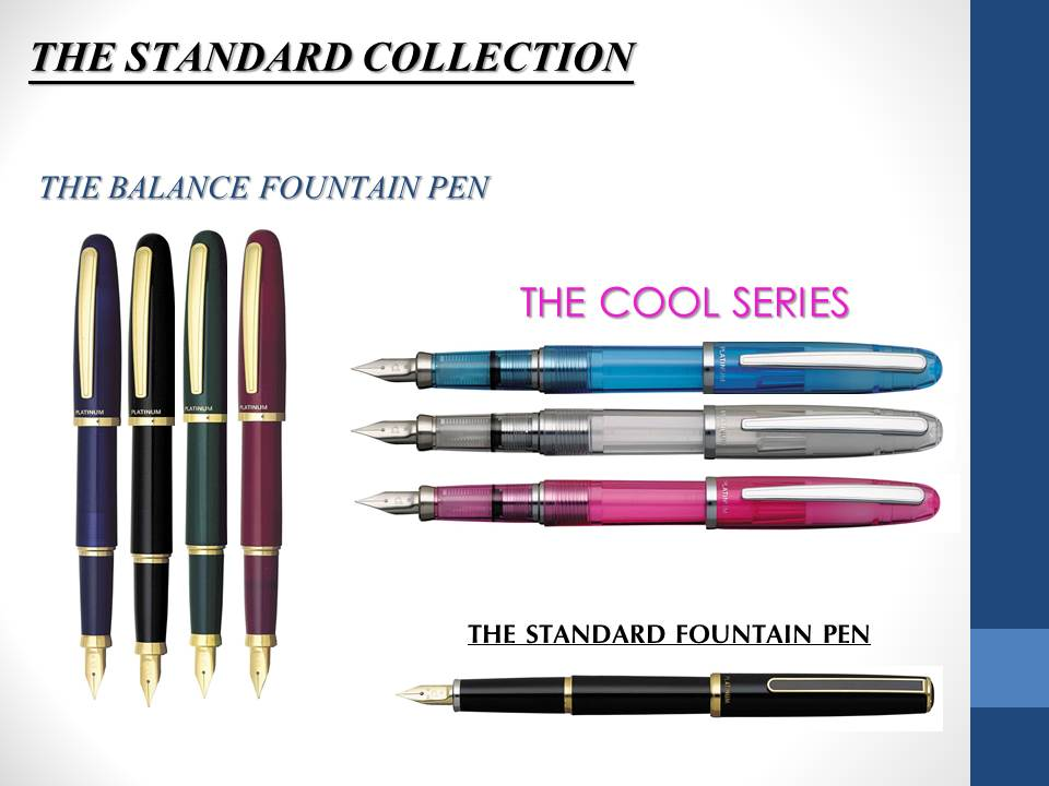 STANDARD PEN COLLECTION SHEET
