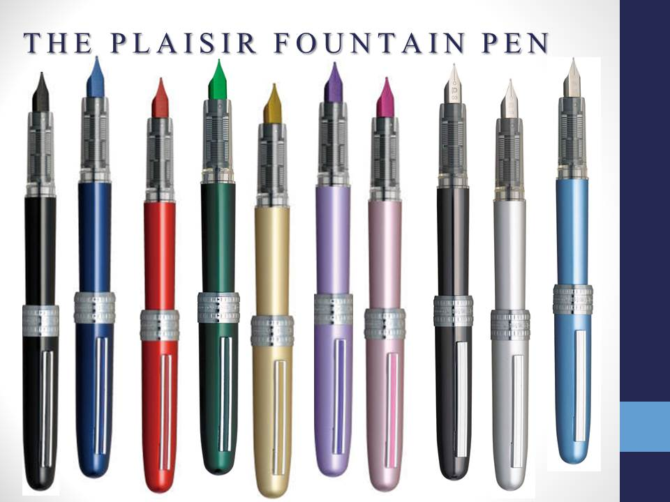 THECOVER PLAISIR FOUNTAIN PEN